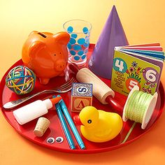 I Spy Party Game:    Have kids inspect a tray of items, then see who can remember the most when it's out of sight.