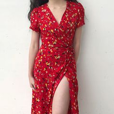 Vacation beach shawl floral tie straps short sleeve long dress