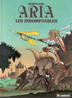 Michel Weyland (born 19 August 1947 Belgium) is an artist writer and cartoonist best known for his... Michel Weyland (born 19 August 1947 Belgium) is an artist writer and cartoonist best known for his long-running series Aria. Weyland had published a science fiction series in Journal de Tintin while still in school in 1969 and published a few cartoons in 1974. In 1979 he return to Journal de Tintin with Aria the heroic adventure heroine whose album series started in 1982. At Comiclopedia…