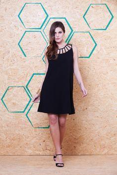 Vestido Decote Tiras VVE 238 #mundoErreErre #lookbook #verao2015 www.erreerre.com.br