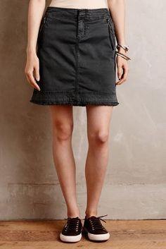 Marrakech Zipped Utility Skirt #AnthroFave