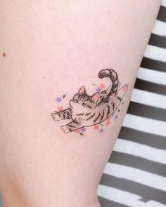 Cute Tiny Tattoos, Mini Tattoos, Body Art Tattoos, Cool Tattoos, Tatoos, Magic Tattoo, Kawaii Tattoo, Party Tattoos, Tattoo Now