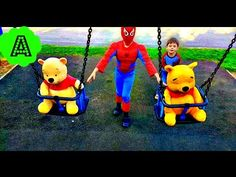 Family fun for children. We love playgrounds. We like to ride on the slides . Have fun with us and watch our video for kids. We will be pleased as you are ou... Bed Linen, Linen Bedding, Best Nursery Rhymes, Rhymes For Kids, Jack And Jill, Playgrounds, Winnie The Pooh, Spiderman, Disney Characters