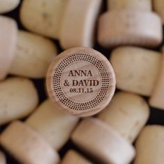 I like this idea! Wedding Party Favors - Wedding Accessories - Wine Cork Monogram - Wedding Favor for Guest by FrooluWeddingShop on Etsy https://www.etsy.com/listing/529220073/personalized-wine-corks-custom-wine