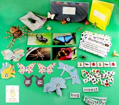 Brilliant Bundles Preschool Bug Kit. Packed full of fun and learning! Available online August 19th www.facebook.com/brilliantbundles