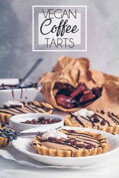 Coffee Vanilla Tarts (Vegan & Gluten-free)