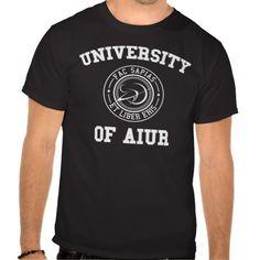 University of Aiur (Protoss) T-shirts