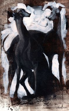 Greyhounds by Duncan Robertson