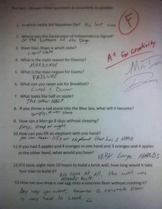 Well I think this kid is brilliant lol