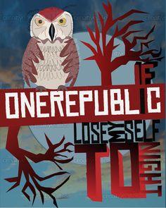 OneRepublic Poster by Wenkeee on CreativeAllies.com