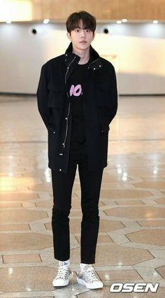 Nam Joo Hyuk Lee Sung Kyung, Nam Joo Hyuk Cute, Jong Hyuk, Ahn Jae Hyun, Lee Jong Suk, Actors Funny, Cute Actors, Asian Actors, Korean Actors