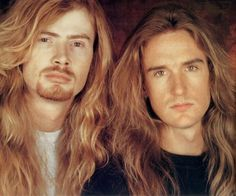 Dave Mustaine and David Ellefson, Megadeth