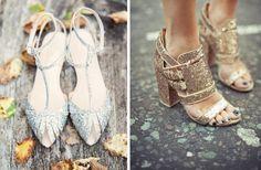 Chaussures a paillettes, Elle Belgium