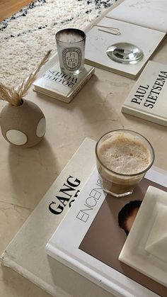 """""""The way to get started is to quit talking and begin doing"""" Cream Aesthetic, Coffee Table Books, Home And Deco, Aesthetic Photo, Neutral Tones, Home Decor Inspiration, My Room, Decoration, Interior Decorating"""