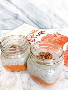 Healthy Pumpkin Chia Parfait that is easy to make and delicious! This paleo and vegan healthy breakfast is full of fiber to keep you full. Pumpkin Spice Syrup, Pumpkin Puree, Chia Seed Coconut Milk, Chia Recipe, Healthy Pumpkin, Chia Pudding, Parfait, Healthy Eating, Healthy Recipes