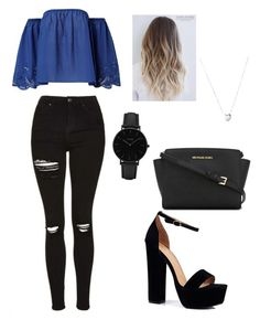 A fashion look from January 2017 featuring off shoulder lace top, evening sandals and courier bags. Browse and shop related looks. Bad Girl Outfits, Cute Teen Outfits, Cute Outfits For School, Cute Comfy Outfits, Teenager Outfits, Classy Outfits, Stylish Outfits, Girls Fashion Clothes, Teen Fashion Outfits