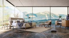 51 Luxury Bedrooms With Images, Tips & Accessories To Help You Design Yours - Archi-Moze Luxury Bedroom Furniture, Luxury Bedroom Design, Master Bedroom Design, Luxury Home Decor, Luxury Homes, Bedroom Designs, Interior Design, Minimalist Bedroom, Modern Bedroom