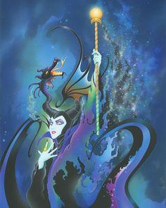 Disney Sleeping Beauty - Maleficent - Become the Dragon - Senko Takahashi - World-Wide- Disney Pixar, Walt Disney, Disney Villains, Disney And Dreamworks, Disney Animation, Disney Love, Disney Magic, Evil Disney, Sleeping Beauty Art