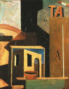 Carlo Carrà, 1916. In 1910 he signed, along with Umberto Boccioni, Luigi Russolo and Filippo Tommaso Marinetti the Manifesto of Futurist Painters, and began a phase of painting that became his most popular and influential.
