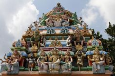 The 300 years old Kapaleeswarar Temple in Chennai has the shrines of Kapaleeswar (Shiva) and Karpagambal (Parvati). http://travel.mapsofindia.com/travel-chennai/tourist-attractions.html