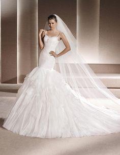 2016 Randi Gemstone Embroidery Mermaid Wedding Dress