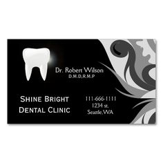 Dental businesscards with appointment card Double-Sided standard business cards (Pack of 100). This is a fully customizable business card and available on several paper types for your needs. You can upload your own image or use the image as is. Just click this template to get started!