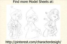 ''The Rescuers'' Penny Model Sheet http://pinterest.com/characterdesigh/