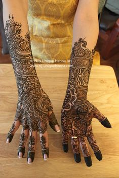 Mehak's bridal henna 2010 © NJ's Unique Henna Art | Flickr - Photo Sharing!