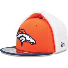 Men's New Era Denver Broncos On Field Dog Ear 59FIFTY® Football Structured Fitted Hat - NFLShop.com