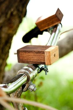 Wooden Bike Light, $62