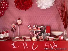 swanky::chic::fete: valentine's day [dessert tables]