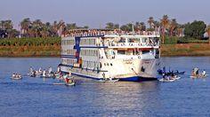 Mit dem Kreuzfahrtschiff wieder nach Kairo  Credit: cc-sa-by-archer10