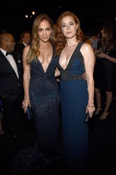 Jennifer Lopez and Amy Adams dressed to impress this weekend.