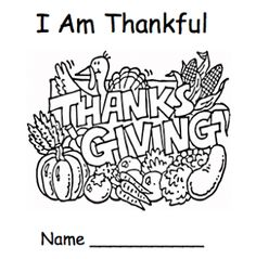 "The Best of Teacher Entrepreneurs: FREE LANGUAGE ARTS LESSON - ""Thanksgiving Emergent Reader - I Am Thankful"""
