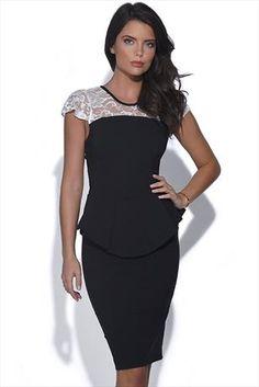 Just had to pin this Vesper Charlotte Peplum Dress from www.vestryonline.com/