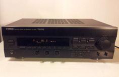 Yamaha Natural Sound AV Receiver RX-V293 5.1 Channel 190 Watt ~ see demo video
