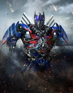 Transformers 4 Optimus prime fan art with updated head!
