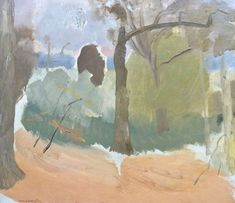 'October Trees, Ashdown Forest' by Ivon Hitchens, 1939 (oil on canvas) Impressionist Landscape, Abstract Landscape, Landscape Paintings, Landscapes, Abstract Tree Painting, Encaustic Painting, Abstract Trees, Landscaping Las Vegas, Landscape Photography Tips