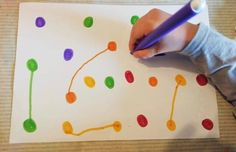 Preschool Learning Activities, Color Activities, Infant Activities, Preschool Activities, Play Based Learning, Therapy Activities, Toddler Crafts, Crafts For Kids, Kids Education
