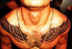 Mens Chest Tattoos