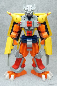 WarGreymon LEGO Digimon build