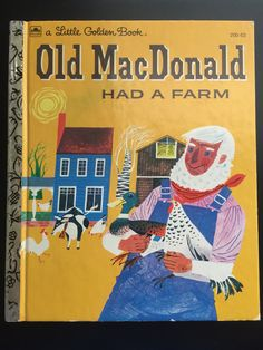 Vintage Old MacDonald Had a Farm a Little Golden Book 1960 by EcoBeachDesigns on Etsy