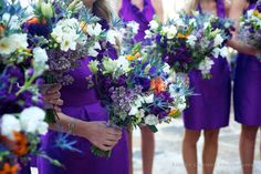 For the bride, not so big for the maids. Event Planning, Wild Flowers, Wedding Planner, Wedding Flowers, Floral Wreath, West Texas, Wreaths, Flower Ideas, Bride