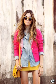 FashionCoolture colourfull outfit
