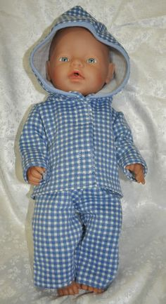 Handmade dolls clothes for Baby Born.