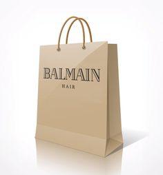 Balmain Paper Shopping Bag.