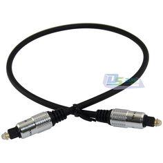 0.5m/1m/2m/3m/5m/10m OD5mm Digital Fiber Optical Audio Male to Male Plug Premium Toslink Cable