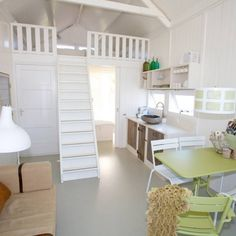 KUST strandhuisjes interior