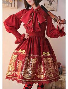 Sweet Lolita Shirt 2019 Mori Girls Autumn Spring Japanese Harajuku Style Long Sleeve Peter Pan Collar Red Fruit Blouse Top Colours Are Striking Women's Clothing