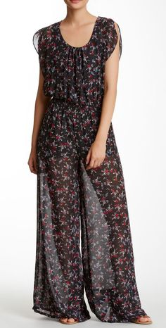 Want & Need | Printed Jumpsuit